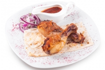 Голень куриная на мангале